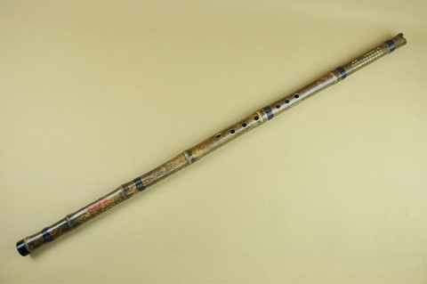 Concert Grade Purple Bamboo Flute Xiao Instrument Chinese Shakuhachi