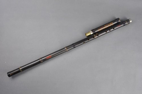 Concert Level Bamboo Flute Xiao Instrument Chinese Shakuhachi 2 Sections