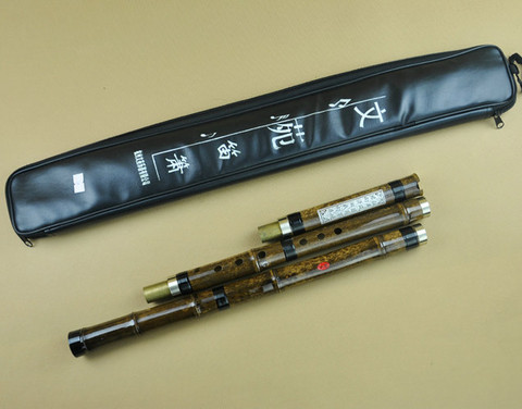 Concert Grade Bamboo Flute Xiao Instrument Chinese Shakuhachi 3 Sections