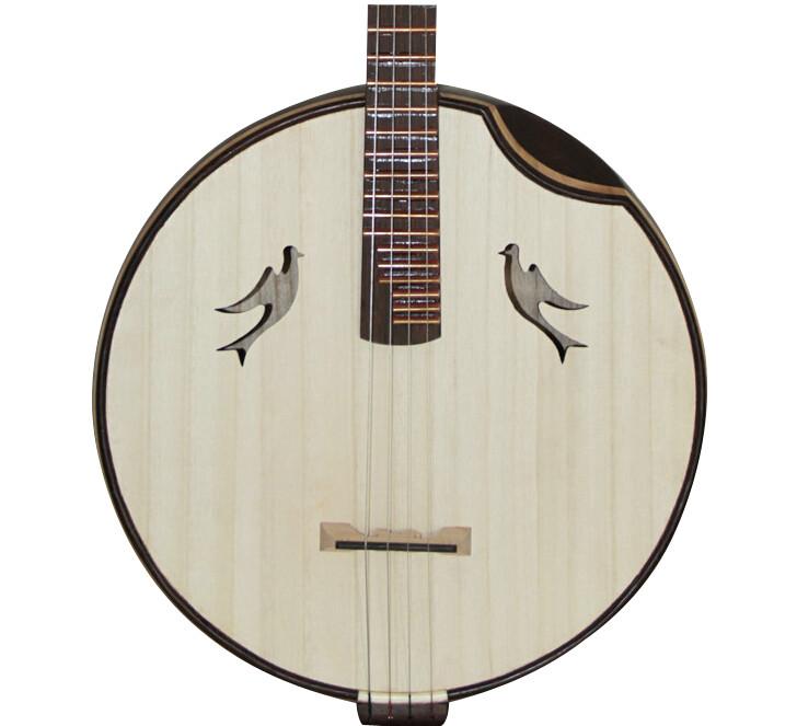 Professional Wenge Wood Zhongruan Instrument Chinese Mandolin Ruan