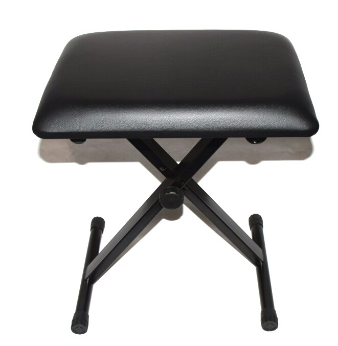 Foldable Guzheng Stool with Adjustable Steel Stands