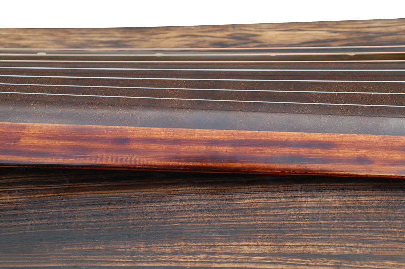 Professional Aged Fir Wood Guqin Instrument Chinese 7 String Zither Ku Mu Long Yin Style