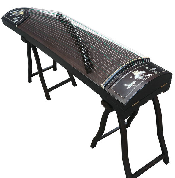 Concert Grade Purple Sandalwood Guzheng Instrument Chinese Zither