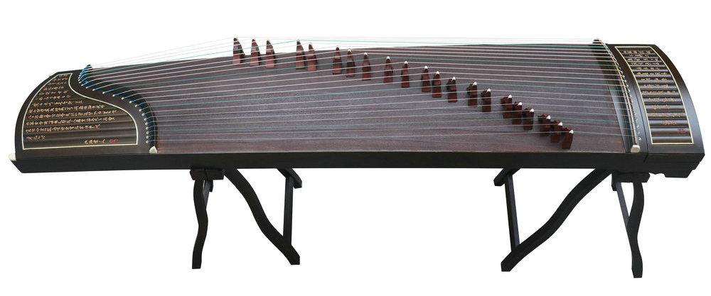 Professional Level Nanmu Guzheng Instrument Chinese Zither Gu Zheng