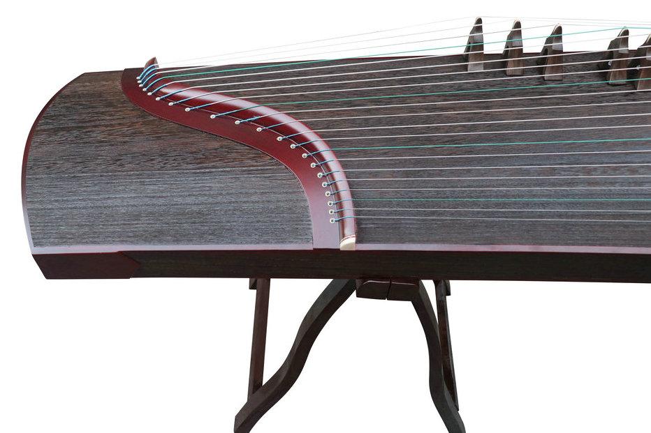 Concert Grade Sandalwood & Paulownia Plain Surface Guzheng Chinese Zither