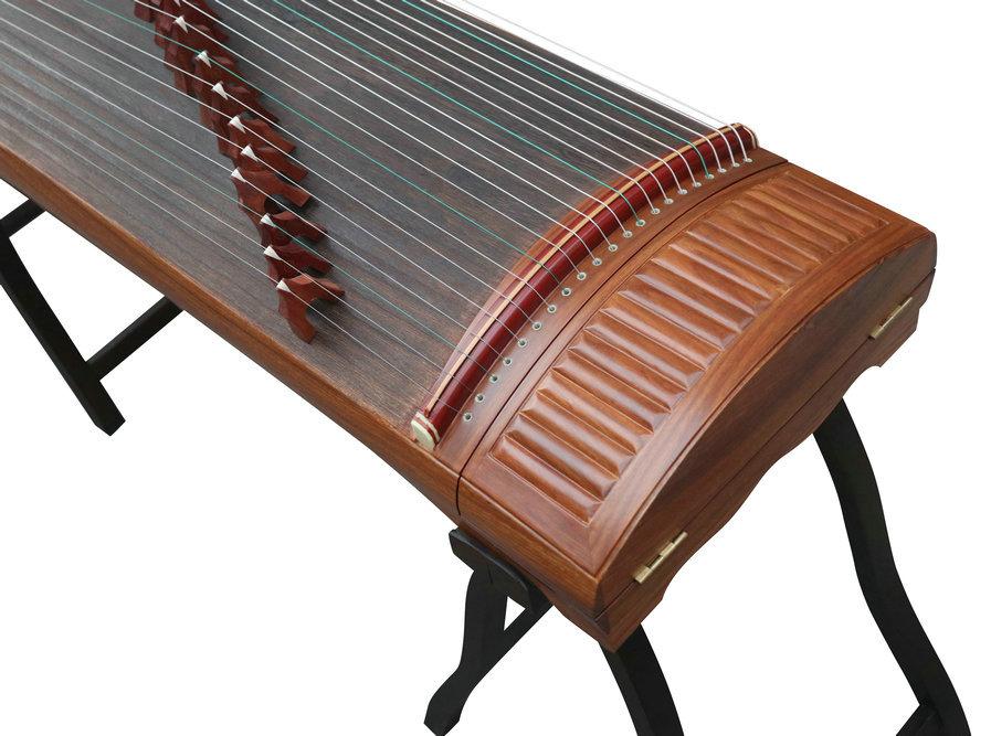 Premium Quality Yellow Sandalwood Guzheng Instrument Chinese Zither