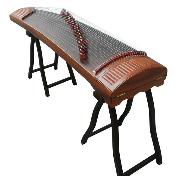 Premium Quality Yellow Sandalwood Guzheng Instrument Chinese Zither