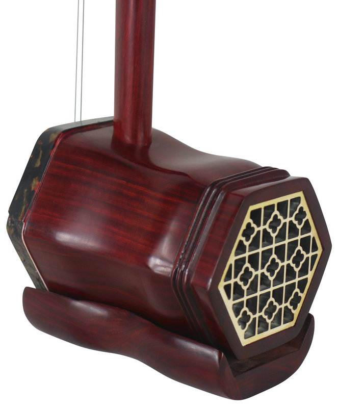 Professional Level Aged Rosy Sandalwood Erhu Chinese Fiddle With Accessories