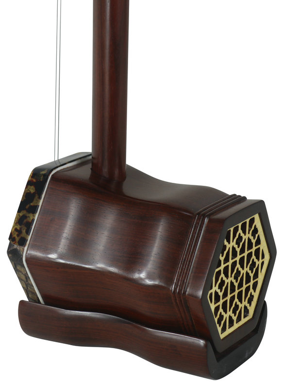 Concert Grade Aged Rosewood Erhu Instrument Chinese Violin Fiddle With Accessories