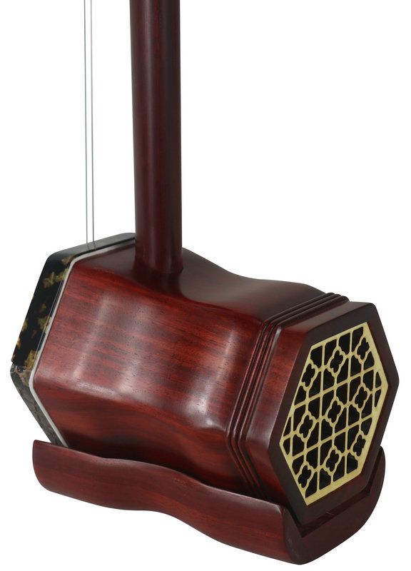 Concert Level African Purple Sandalwood Erhu Instrument Chinese Fiddle With Accessories