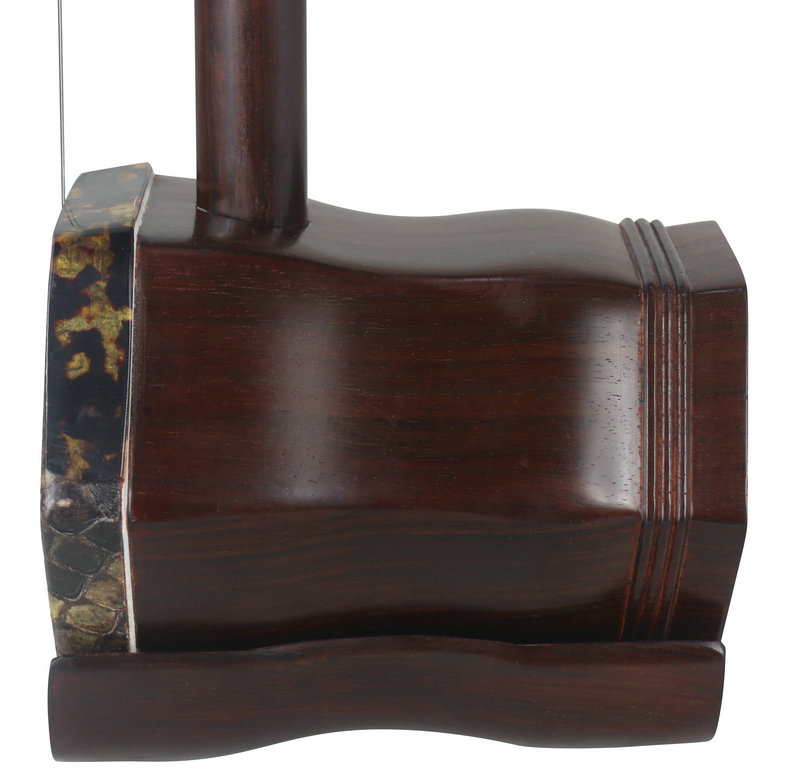 Premium Quality Dragon Carved Ming Qing Dynasty Aged Rosewood Erhu With Accessories
