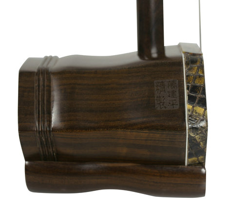 Professional Level Sandalwood Bass Erhu Instrument Chinese Violin Fiddle With Accessories