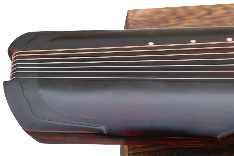 Professional Aged Fir Wood Guqin Instrument Chinese 7 String Zither Fu Xi Style