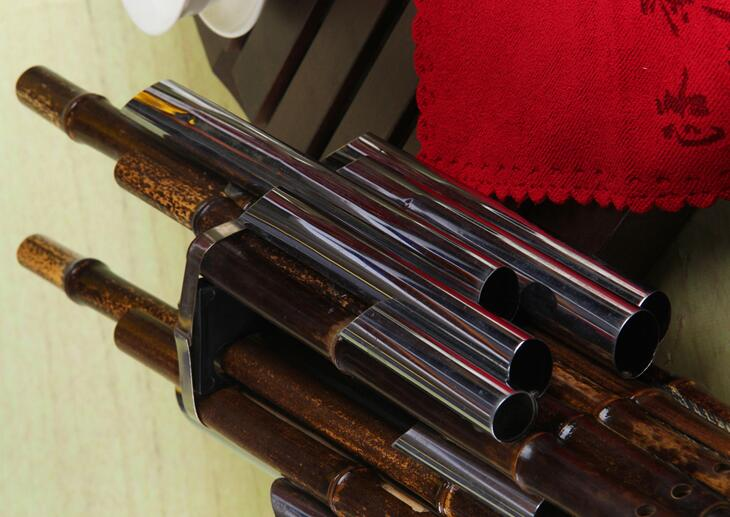 Professional Level Chinese Ancient Instrument Sheng 14 Pipes With Case