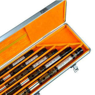 Kaufen Acheter Achat Kopen Buy Professional Level Chinese Purple Bamboo Flute Dizi Instruments Kit with Case