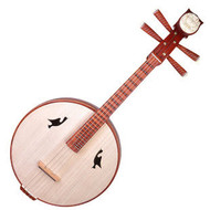 Buy Concert Grade Sandalwood Zhongruan Instrument Chinese Moon Guitar Ruan