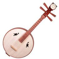 Buy Concert Grade Sandalwood Zhongruan Instrument Chinese Moon Guitar Ruan
