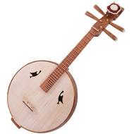 Kaufen Acheter Achat Kopen Buy Concert Grade Yellow Sandalwood Zhongruan Instrument Chinese Mandolin Ruan