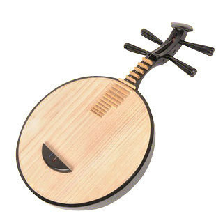 Kaufen Acheter Achat Kopen Buy Beginner Level Maple Yueqin Instrument Chinese Moon Guitar