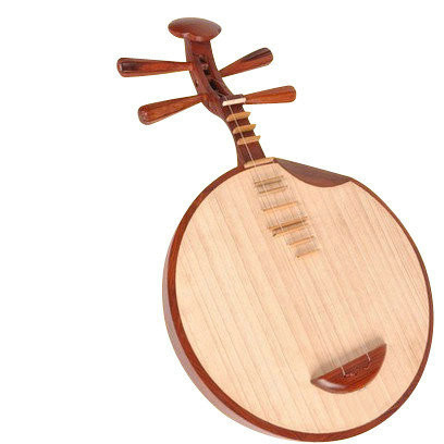 Kaufen Acheter Achat Kopen Buy Professional Sandalwood Yueqin Chinese Moon Guitar with Case