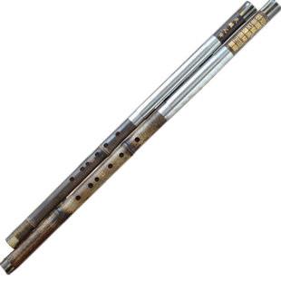 Kaufen Acheter Achat Kopen Buy Exquisite Chinese Bamboo Flute Bawu Free Reed Instrument Dubble Tube