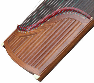 Buy Premium Quality Yellow Sandalwood Guzheng Instrument Chinese Zither