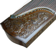 Kaufen Acheter Achat Kopen Buy Concert Grade Carved Nanmu Guzheng Instrument Chinese Zither Harp