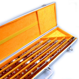 Kaufen Acheter Achat Kopen Buy Concert Grade & Master Made Chinese Bitter Bamboo Flutes Kit with Case
