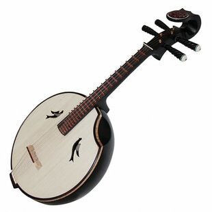 Kaufen Acheter Achat Kopen Buy Concert Grade Black Sandalwood Zhongruan Instrument Chinese Mandolin