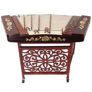 Buy Professional Hardwood Yangqin Instrument Chinese Hammered Dulcimer with Accessories