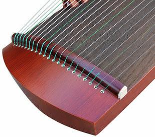 Kaufen Acheter Achat Kopen Buy Exquisite Travel Size Red Sandalwood Guzheng Instrument Chinese Harp