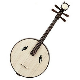 Buy High Quality Da Ruan Instrument Chinese Mandolin Ruan With Accessories