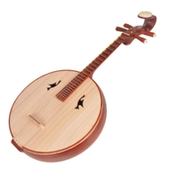 Buy Concert Grade Sandalwood Da Ruan Instrument Chinese Mandolin Ruan With Accessories