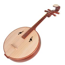 Buy Concert Grade Sandalwood Da Ruan Instrument Chinese Mandolin Ruan With Accessories