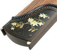 Professional Level Carved Wenge Wood Guzheng Instrument Chinese Koto Zheng