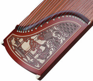 Kaufen Acheter Achat Kopen Buy Professional Level Red Sandalwood Guzheng Instrument Chinese Harp
