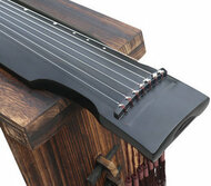 Buy Beginner Level Paulownia Wood Guqin Zither Chinese 7 String Instrument Zhong Ni Style