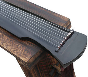 Buy Beginner Level Paulownia Wood Guqin Zither Chinese 7 String Instrument Fu Xi Style