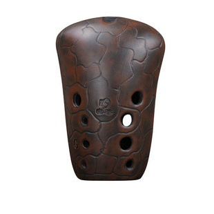 Buy Professional Chinese Clay Flute Ancient Xun Instrument Stone Axes Ocarina 10 Holes