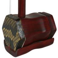 Professional Fine Purple Sandalwood Erhu Instrument Chinese Violin With Accessories