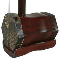 Premium Quality Purple Sandalwood Erhu Instrument Chinese Violin With Accessories