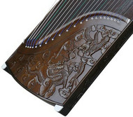 Buy Concert Grade Carved Aged Nanmu Guzheng Chinese Zither Harp