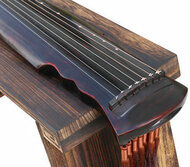 Buy Professional Aged Fir Wood Guqin Instrument Chinese 7 String Zither Xuan He Style