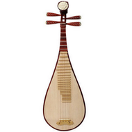 Buy Quality Chinese Travel Size Rosy Sandalwood Pipa Instrument Chinese Lute With Accessories