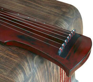 Buy Premium Quality Aged Fir Wood Guqin Instrument Chinese 7 String Zither Fu Xi Style