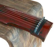 Buy Premium Quality Aged Fir Wood Guqin Instrument Chinese 7 Stringed Zither Zhong Ni Style