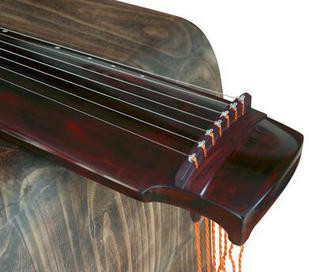 Buy Premium Quality Aged Fir Wood Guqin Instrument Chinese 7 String Zither Lv Qi Style