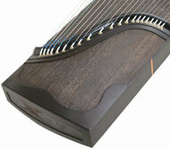 Buy Premium Quality Whole Piece Digged Black Sandalwood Guzheng Instrument Chinese Zither Harp