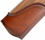 Buy Professional Level Plain Surface Red Sandalwood Guzheng Instrument Chinese Zither
