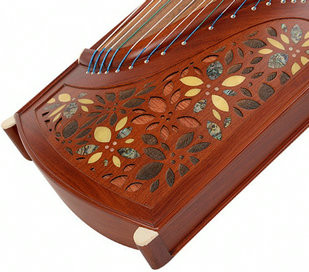 Buy Professional Level Red Sandalwood Guzheng Instrument Chinese Zither Gu Zheng